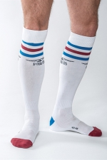 Chaussettes Mister B URBAN Gym blanches